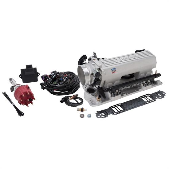 Edelbrock 358100 Pro-Flo 4 EFI XT Kit, Pre-1986 SBC, No Tablet