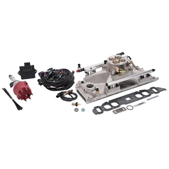 Edelbrock 358300 Pro-Flo 4 EFI Kit, Big Block Chevy, Oval Ports