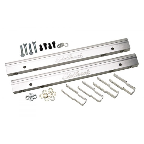 Edelbrock 3632 Aluminum Fuel Rail, FE Big Block Ford