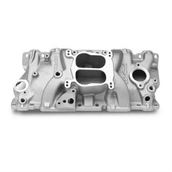 Edelbrock 37061 Performer Series Intake Manifold, Small Block Chevy