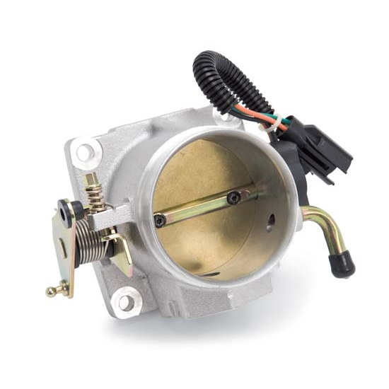 Edelbrock 3826 Throttle Body Assembly, 75mm, Ford 5.0L