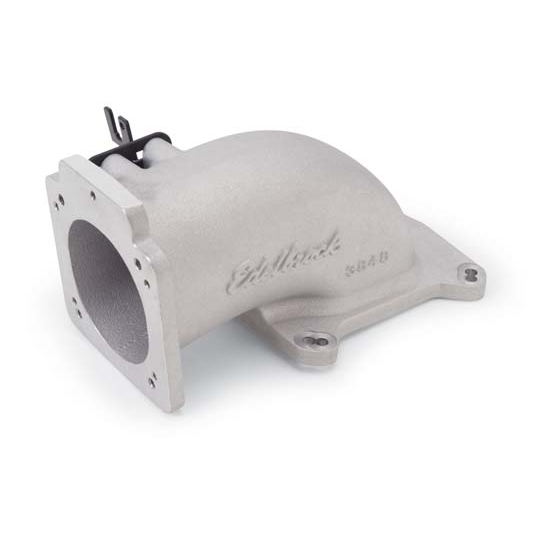 Ls1 Intake Manifold Edelbrock: Edelbrock 3848 Intake Elbow Throttle Body Adapter, Ford 5