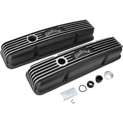 Edelbrock 41443 Classic Series Valve Cover Set, Small Block Chevy