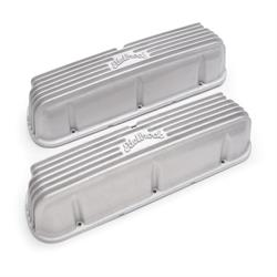 Edelbrock 41609 Classic Small Block Ford Satin Valve Cover