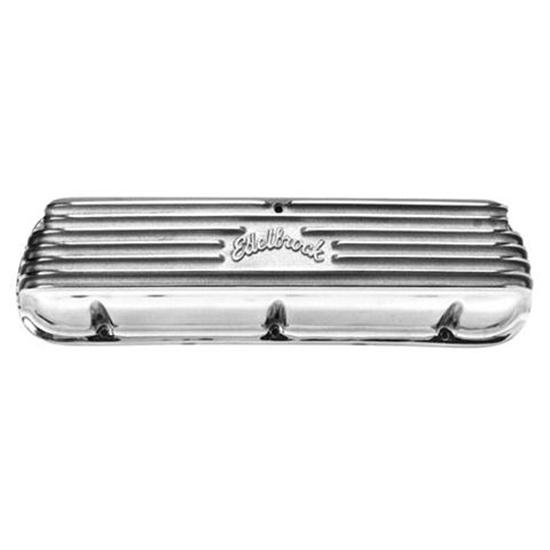Edelbrock 4160 1960-95 Small Block Ford Finned Valve Covers
