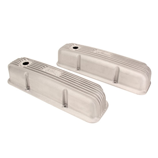 Edelbrock Classic Ford FE Satin Valve Covers