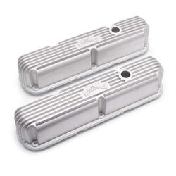 Edelbrock 41769 Classic Series Valve Cover Set, Small Block Chryselr