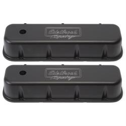 Edelbrock 41803 Victor Series Valve Cover Set, Big Block Chevy