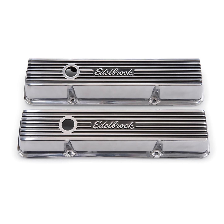 Edelbrock 4204 Elite Series Push-In Rectangular Breather