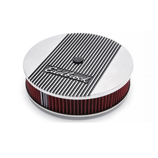 Edelbrock 4268 Elite II Air Cleaner, Round, 14 in.