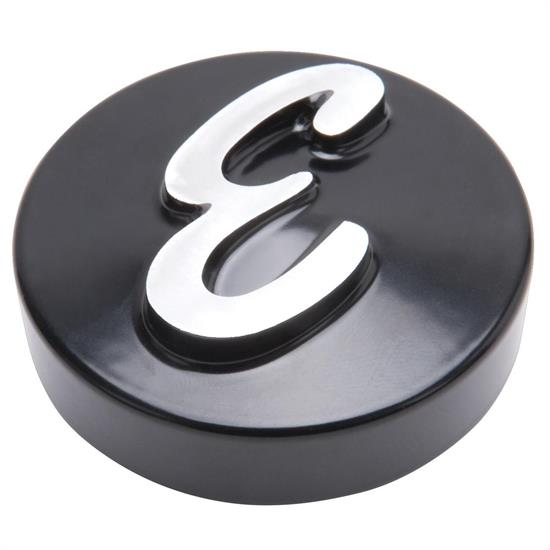 Edelbrock 4271 Air Cleaner Wing Nut, Aluminum, Black, 2.125 Inch