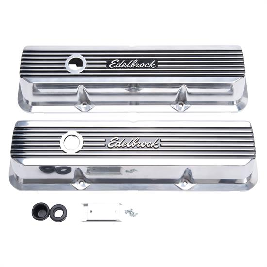 Edelbrock 4277 Elite II Valve Covers, B/B Ford