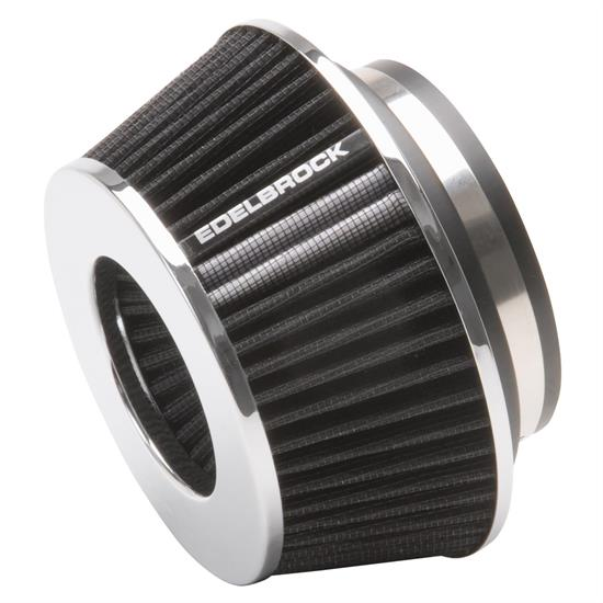 Edelbrock 43610 Pro-Flo Air Cleaner Element Air Filter, Cone, 3.7in.
