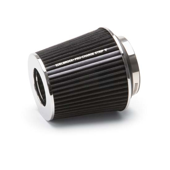 Edelbrock 43640 Pro-Flo Air Cleaner Element Air Filter, Cone, 6.7in.