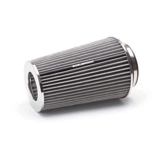Edelbrock 43692 Pro-Flo Air Cleaner Element Air Filter, Cone, 10 Inch