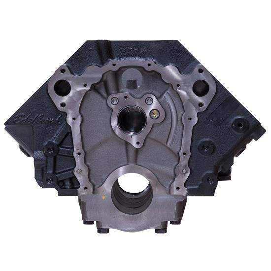 Edelbrock 450000 Big Block Chevy Engine Block, 2-Piece Rear Main