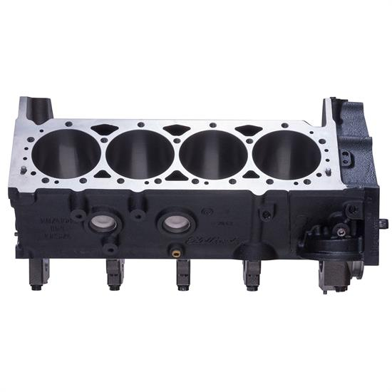 Edelbrock 450020 Small Block Chevy Engine Block 2-Piece Rear Main