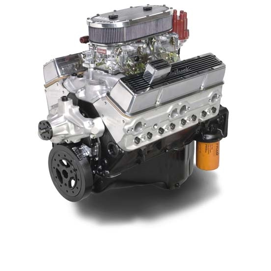 Edelbrock 45010 Dual-Quad 9.0:1 Compression Performance Crate Engine