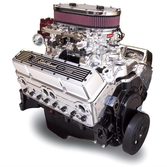 Edelbrock 45014 Dual-Quad 9 0:1 Compression Performance Crate Engine