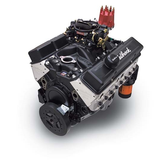 Edelbrock 45083 Crate E-Street Carbureted 9.0:1 Performance Engine