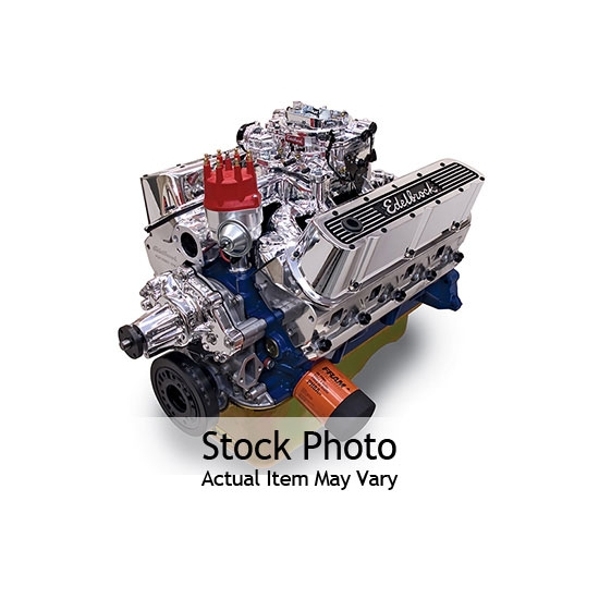 Edelbrock 45260 Performer RPM 9.9:1 Performance Crate Engine, Ford 347