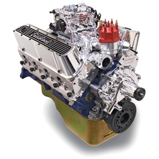 Edelbrock 45264 Performer RPM 9.9:1 Performance Crate Engine, Ford 347