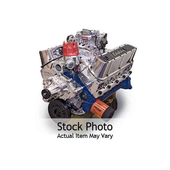 Edelbrock 45270 Performer RPM 9.9:1 Performance Crate Engine, Ford 347
