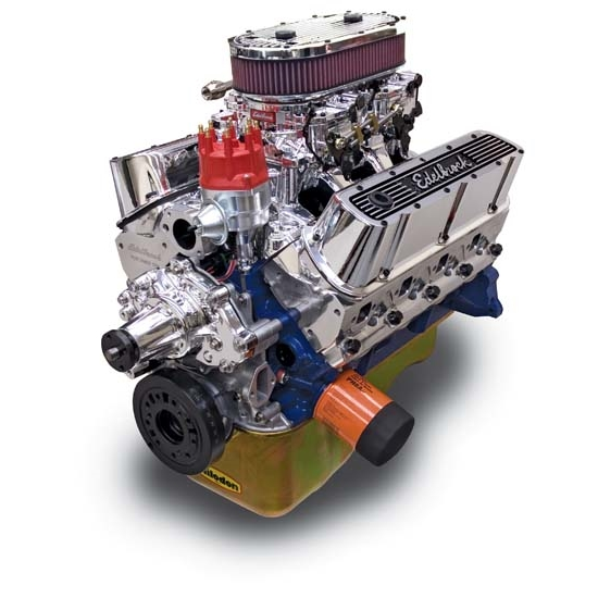 Edelbrock 45464 Performer RPM Dual Quad 9.9:1 Performance Crate Engine