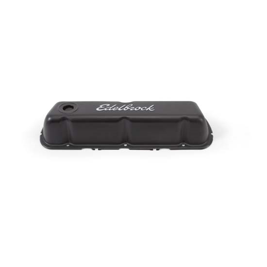 Edelbrock 4603 Signature Series Black Valve Cover Set, Ford