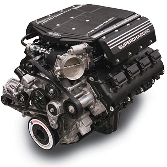 Edelbrock 46126 E-Force Supercharged Crate Engine, 426 Hemi