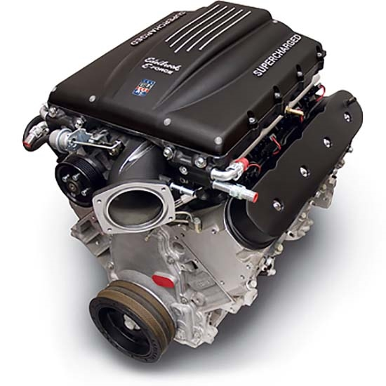 Edelbrock 46750 EForce Supercharged LS Performance Crate Engine, Chevy