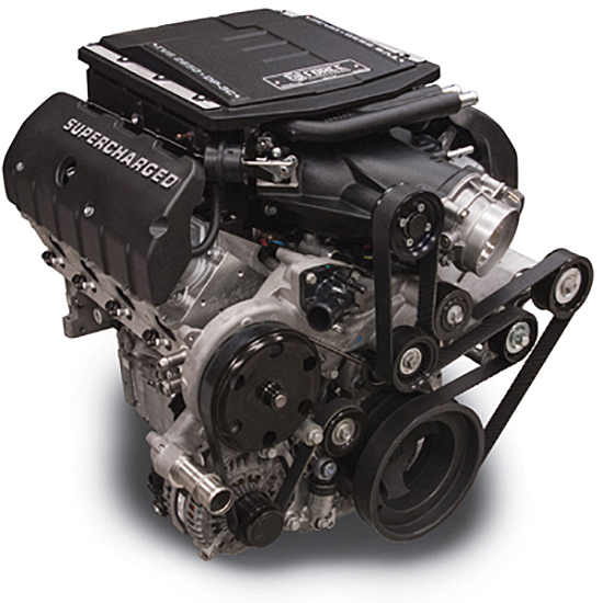 Edelbrock 46756 E-Force Supercharged Crate Engine, LT416 w/ Acc.
