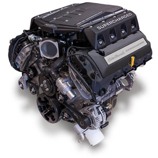 Edelbrock 468700 Supercharged 5 0L Coyote Crate Engine