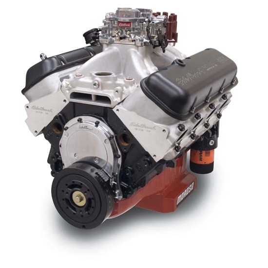 Edelbrock 49550 Edelbrock/Musi 555 10.0:1 Performance Crate Engine