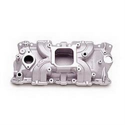 Edelbrock 50011 Torker II Series Intake Manifold, Small Block Chevy