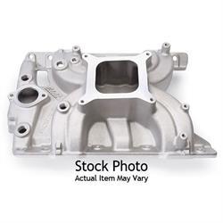 Edelbrock 50561 Torker II Intake Manifold, Aluminum, Pontiac V8