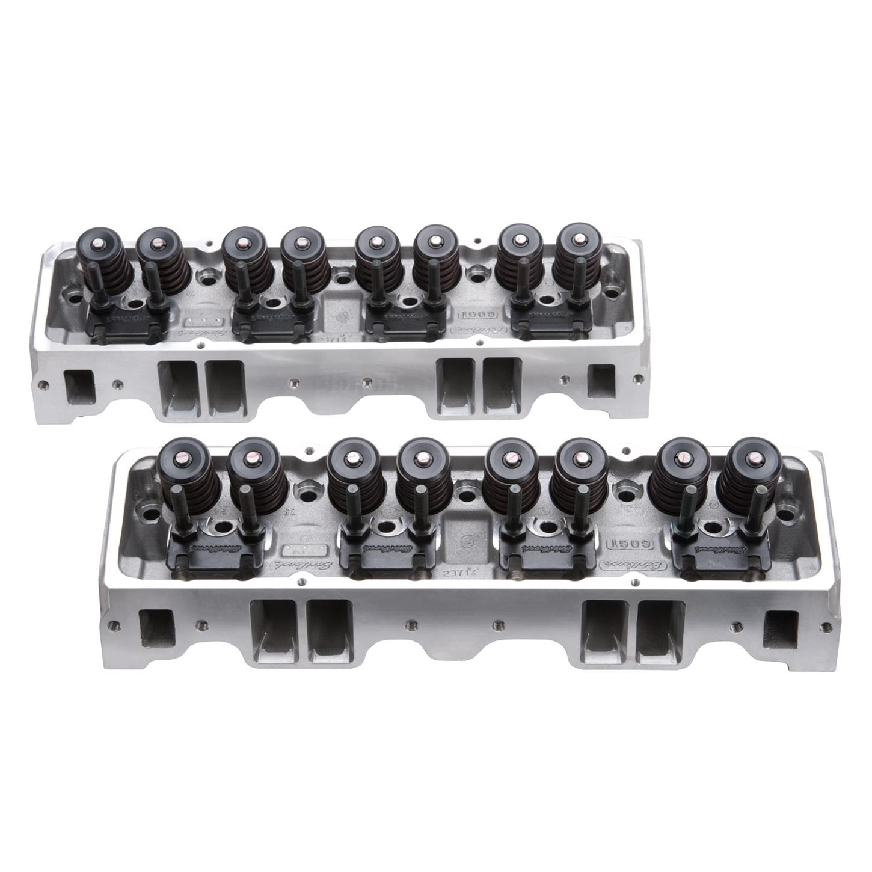 Edelbrock 5073 E-Street Cylinder Head, Aluminum, Small Block Chevy