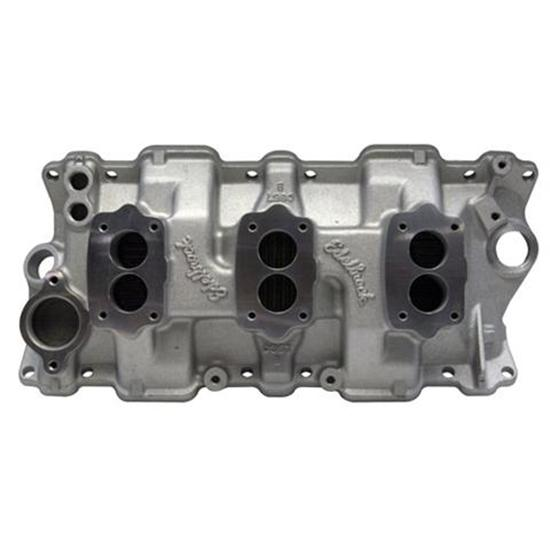 Edelbrock 5419 1955-86 Small Block Chevy Three Deuce ...