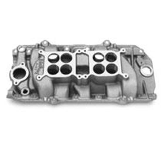 Edelbrock 5420 396-454 Chevy Dual Quad Intake Manifold, Oval Port