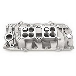 Edelbrock 54211 C-66-Dual-Quad Intake Manifold, Rectangle Port