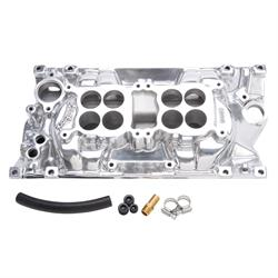 Edelbrock 54261 C-26 Dual-Quad Intake Manifold, Chevy Vortec 5.7L