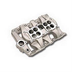 Edelbrock 54501 P-65 Dual Quad Intake Manifold, Non-EGR, Pontiac V8