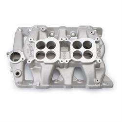 Edelbrock 5450 P-65 Dual Quad Intake Manifold, Pontiac V8