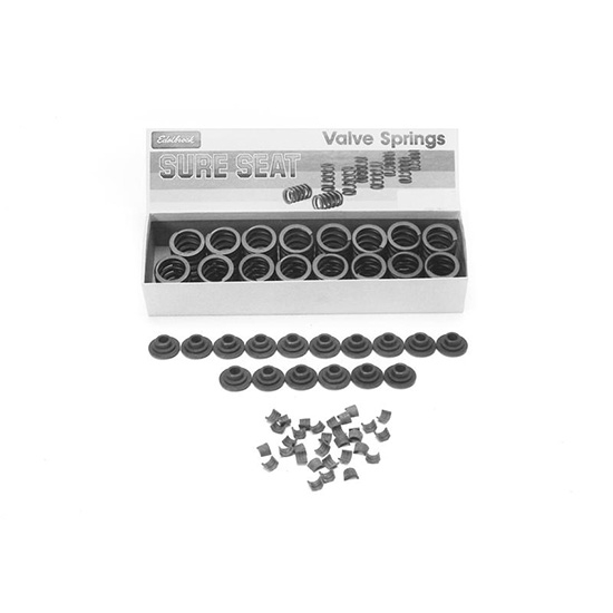 Edelbrock 5896 Sure Seat Valve Spring, Single, 1.375 Inch