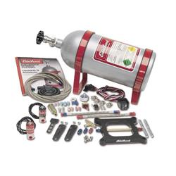Edelbrock 70001 Performer Nitrous Oxide System, 4-Barrel, 50-100 HP