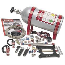 Edelbrock 70002 Performer Nitrous Oxide System, 4-Barrel, 50-100 HP