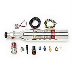 Edelbrock 70028 Concealed Nitrous Oxide System, 20-30 HP, 12 oz. Kit