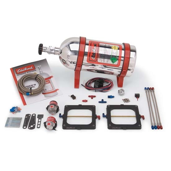 Edelbrock 70093 Performer RPM Single-Stage Nitrous Systems, Kit