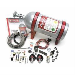 Edelbrock 70400 EFI Nitrous Oxide System, Silver, Ford 4.6/5.0L