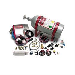 Edelbrock 70402 EFI Dry Nitrous Oxide System, Silver, Ford 4.6/5.0L